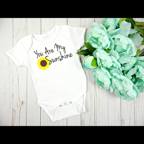 d6171a08c Onesie One Pieces | You Are My Sunshine Sunflower | Poshmark